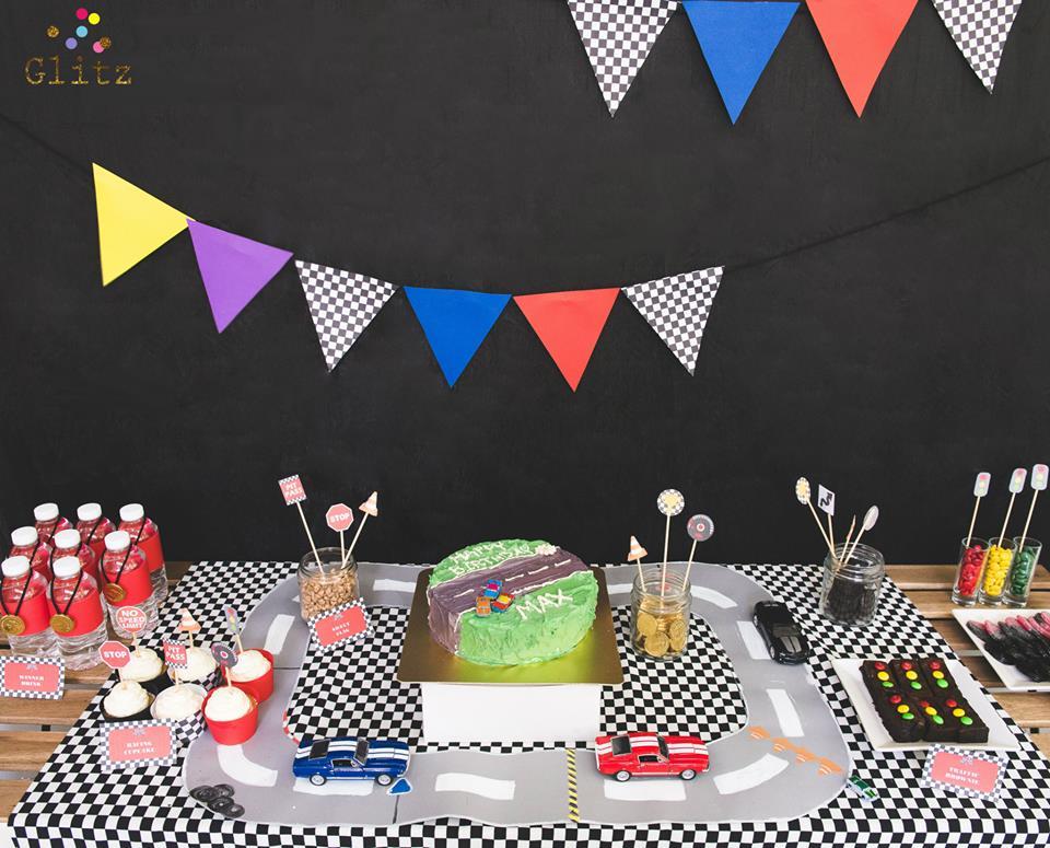 ฉลองวันพิเศษให้ลูกคุณได้เป็นนักแข่งรถตัวน้อย กับปาร์ตี้วันเกิดธีม