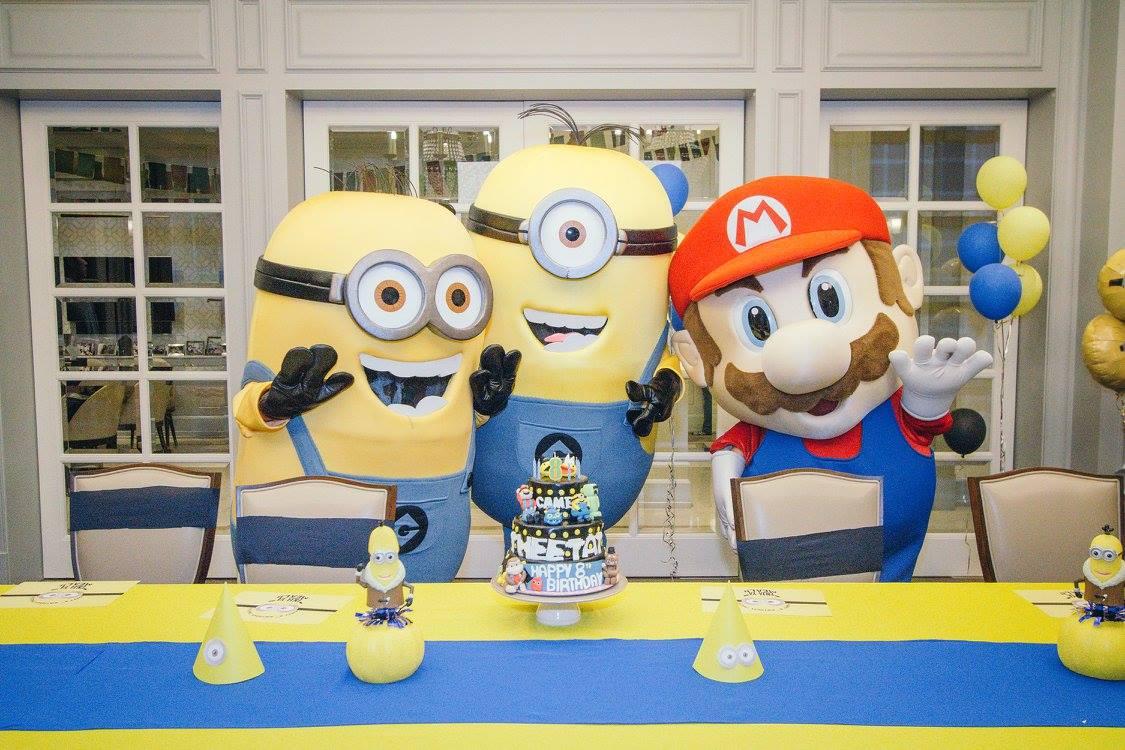 ให้เกมส์โปรดกลายเป็นธีมปาร์ตี้วันเกิด