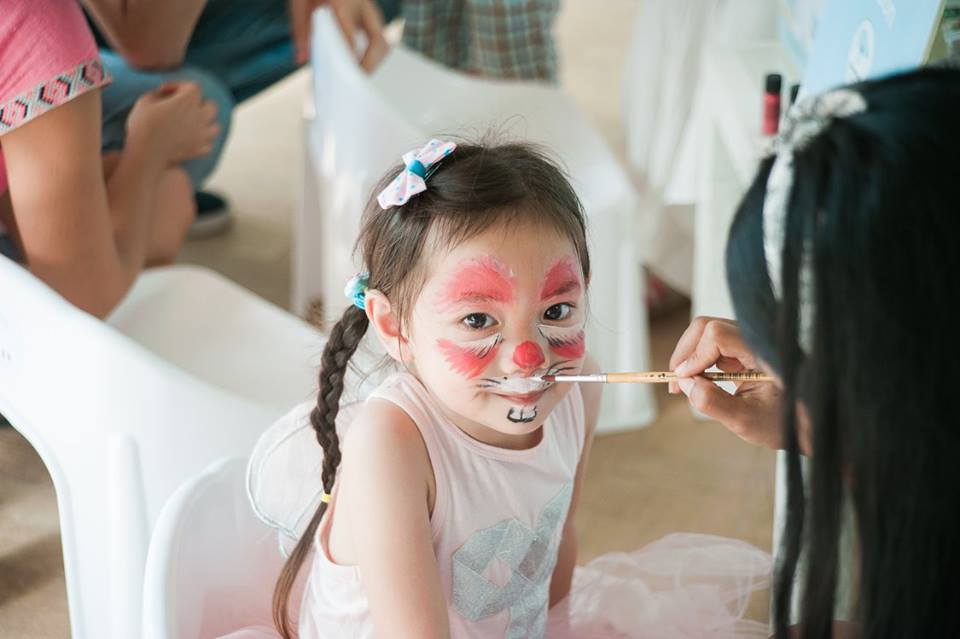 Blue Garden party idea by us, the party planner for kids birthday and kids event, providing one-stop party service in Bangkok area