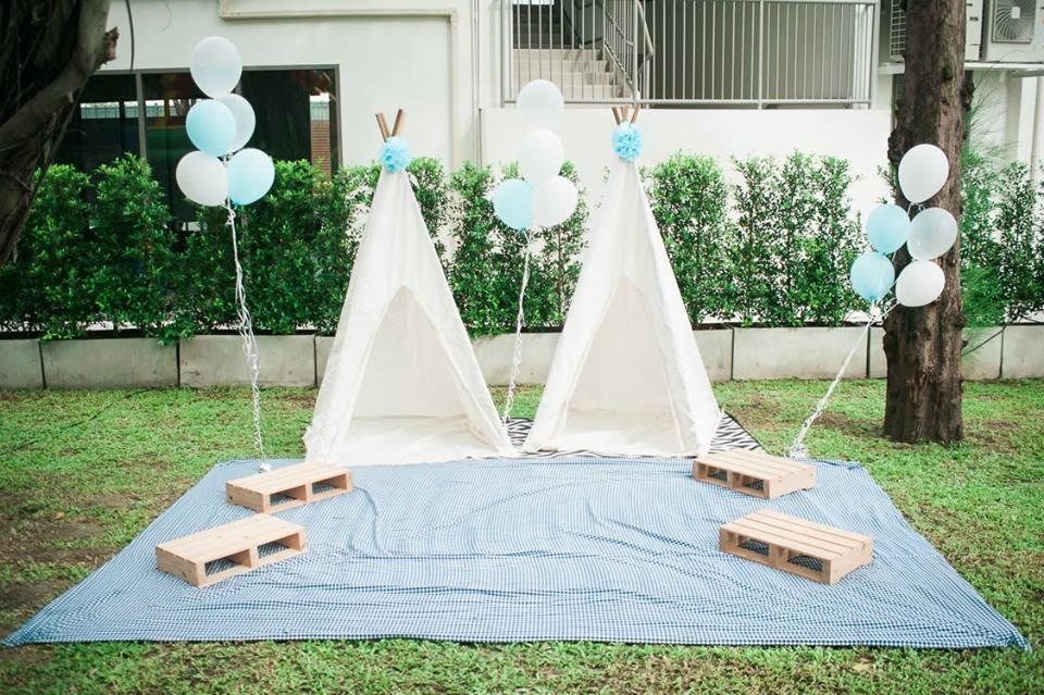 จัดงานปาร์ตี้ในธีมสวนในโทนสีฟ้า Blue Garden รับจัดงานปาร์ตี้และอีเวนท์ จัดให้ได้ตามธีมงานที่คุณต้องการ ออกแบบสวยงามและมีความเป็นมืออาชีพ ประทับใจสำหรับทุกคน