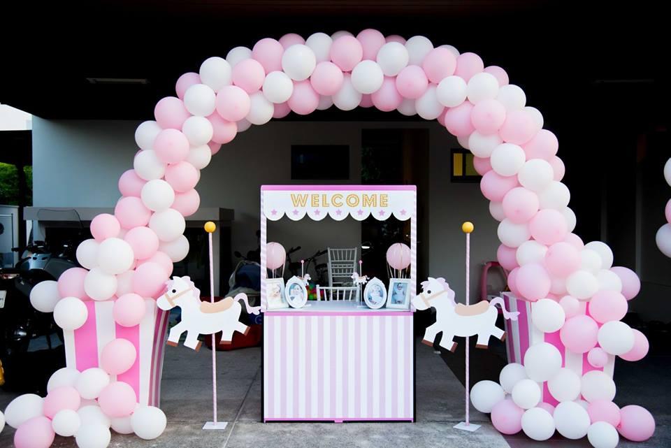 จัดงานวันเกิดสุดอลังการให้น้องเจ้าขาในธีม Carousel ขอบคุณคุณแม่คนสวย คุณกระแต ที่ให้เราจัดงานให้ งานมีความสวยงามทั้งการตกแต่งงาน ลูกโป่ง กิจกรรม ขนม และเค้ก น่ารักเป็นที่สุด