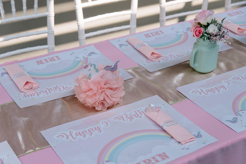 ธีมยูนิคอร์นน่ารักๆ สำหรับงานวันเกิดสุดพิเศษของลูกสาว - เราให้บริการตั้งแต่การตกแต่งสถานที่ ลูกโป่ง อาหาร ขนม เครื่องดื่ม และกิจกรรมต่างๆ